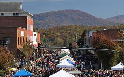 festivals events franklin nc