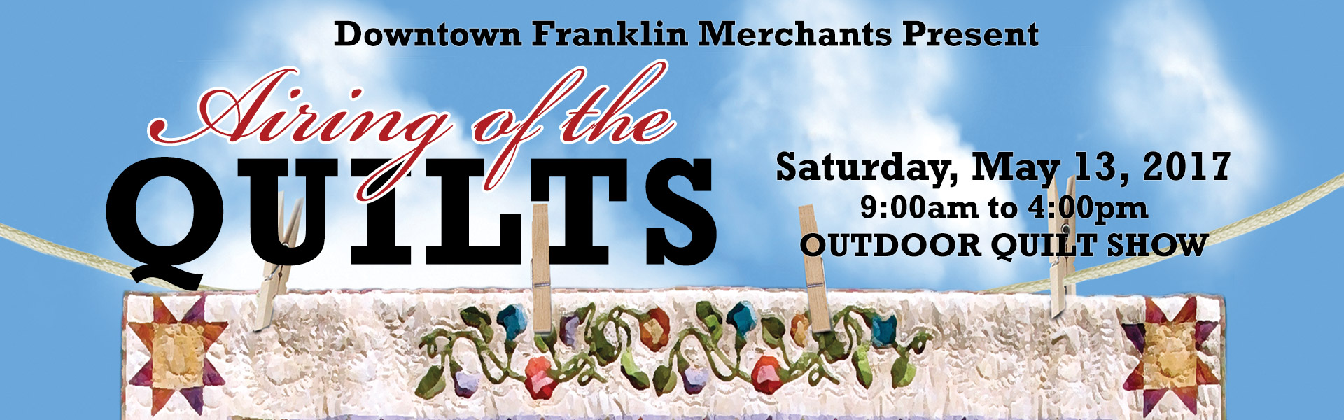 franklin nc airing of the quilts festival