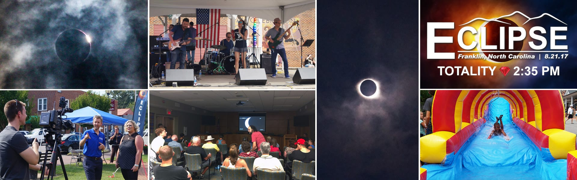 franklin nc solar eclipse festival events